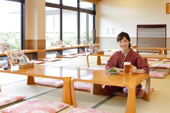 選べるお食事 2階ラウンジ「お食事処
