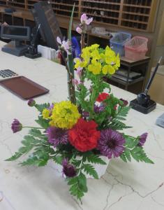 春の訪れ~新しいお花が届きました~