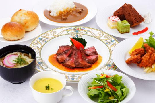 ④お好みのお料理を楽しむ