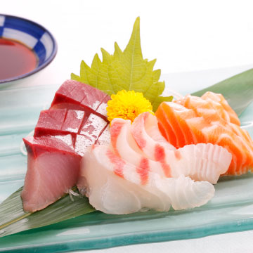 北近江食堂 選べるメインお刺身三種盛り