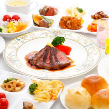 北近江食堂 選べるメインと惣菜・サラダバー