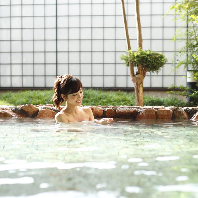 湯ったり天然温泉を愉しむ